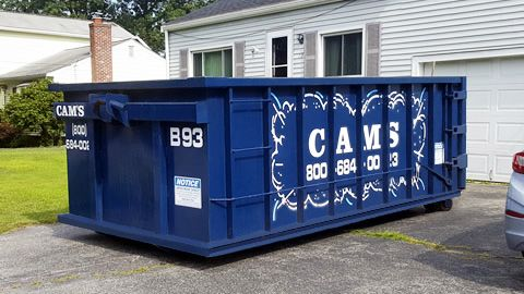 15 Cubic Yard Dumpster Rental Wilmington, MA - Crest Avenue