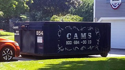 15 Cubic Yard Dumpster Rental Wilmington, MA - Apple Tree Lane